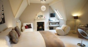 Ffynon Boutique B&B - contemporary bedroom