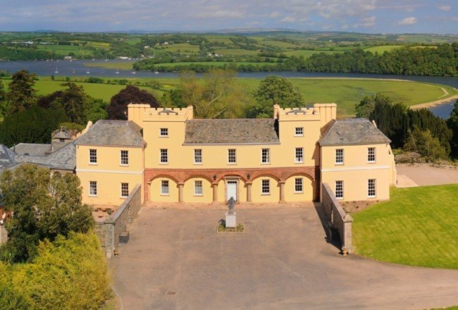 Pentillie Castle Boutique B&B, Saltash, Cornwall