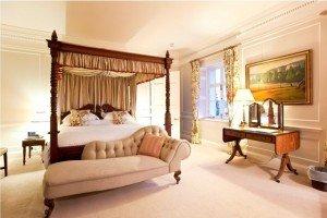 Pentillie Castle Boutique Bed and Breakfast - Bedroom
