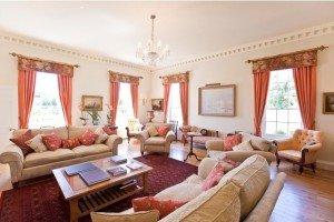 Pentillie Castle Boutique Bed and Breakfast - The sitting room