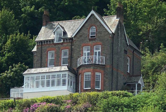 Exterior of a Victorian Gentelmen's Residence