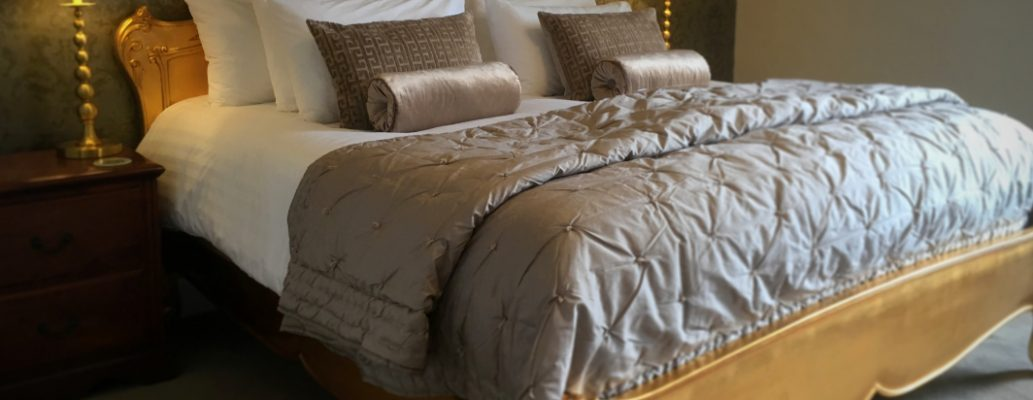 Luxury bedroom at Highcliffe House