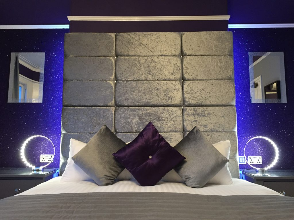 Luxury bedroom at The 25