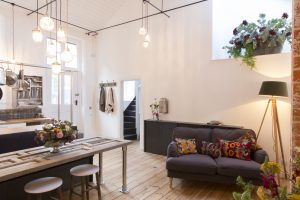 Chic city centre loft in boutique self-catering accommodation