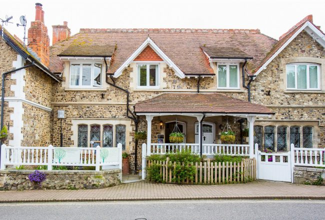 Property front– Stunning renovation of 100 year old cottage in Beer, Devon