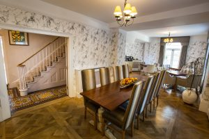 Arden House's superb boutique B&B dining room
