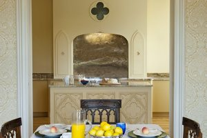 Breakfast in exquisite style at Combermere Abbey Cheshire