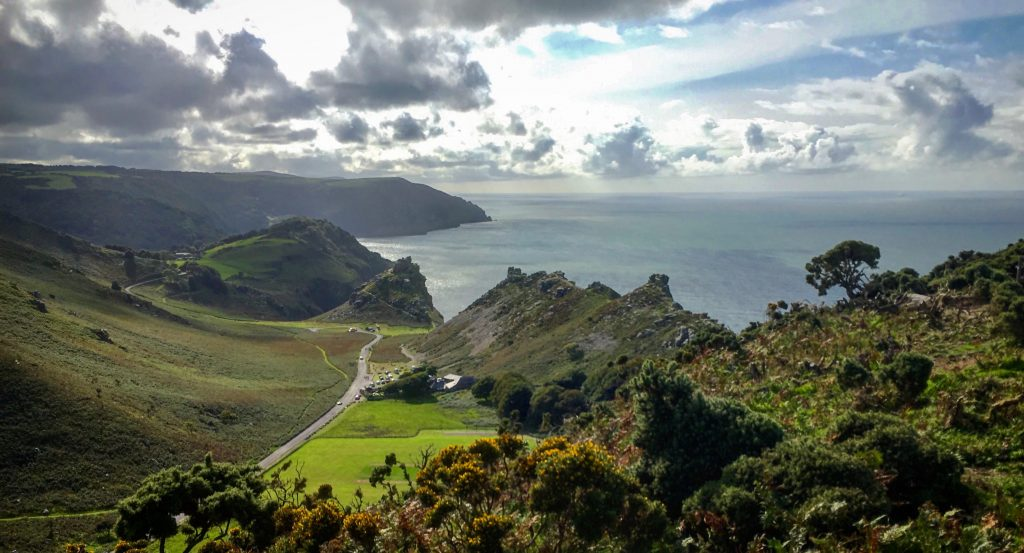 Valley of Rocks near Highcliffe House, North Devon