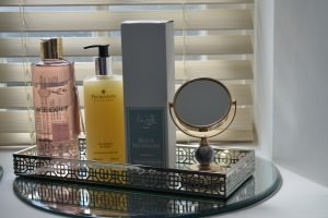 Indulge your senses with the luxury toiletries at The Old Chapel