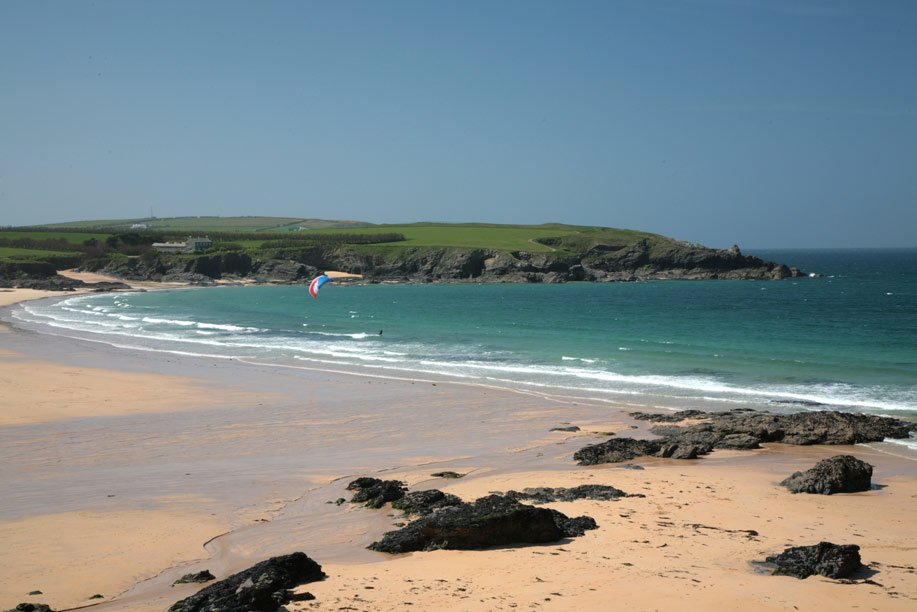 Harlyn Bay best beaches in Cornwall
