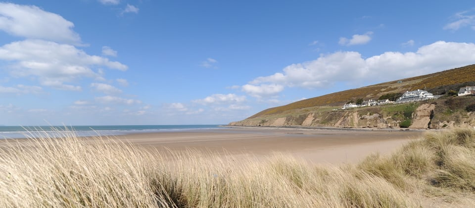 best beaches devon