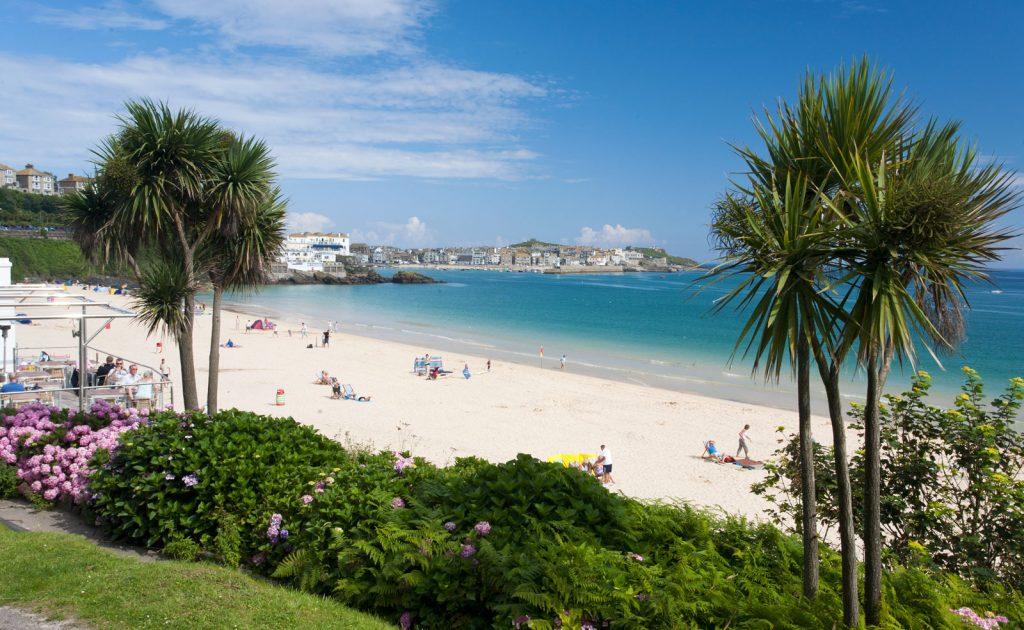 Porthminster Beach best beaches in Cornwall