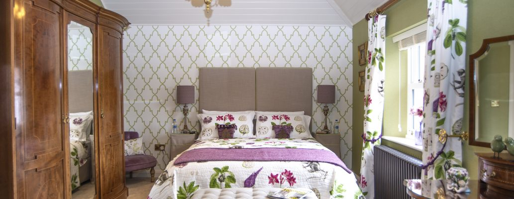 The Coach House decor reflects its classic style